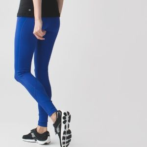 lululemon athletica Pants - Lululemon Drop It Like It's Hot Tight Sz 8 Blue